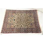 Semi Antique Persian Oriental Hand Woven Wool Rug.
