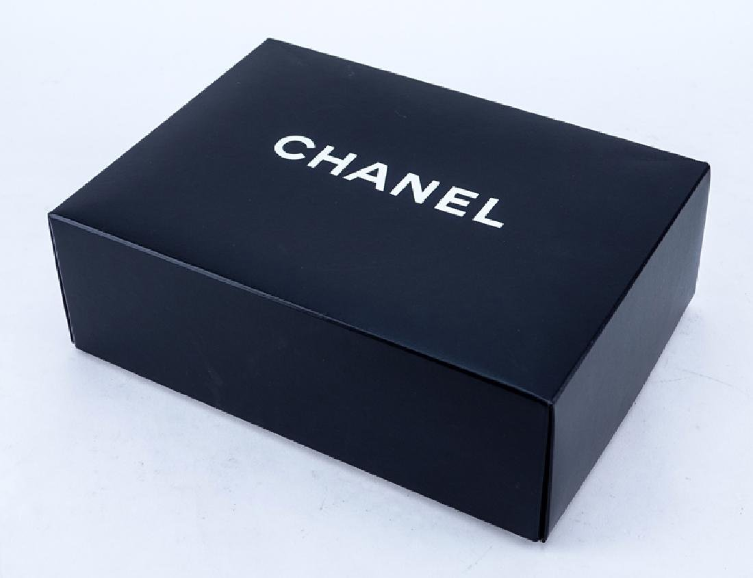 Chanel Black Quilted Leather Classic Double Flap Bag - 6