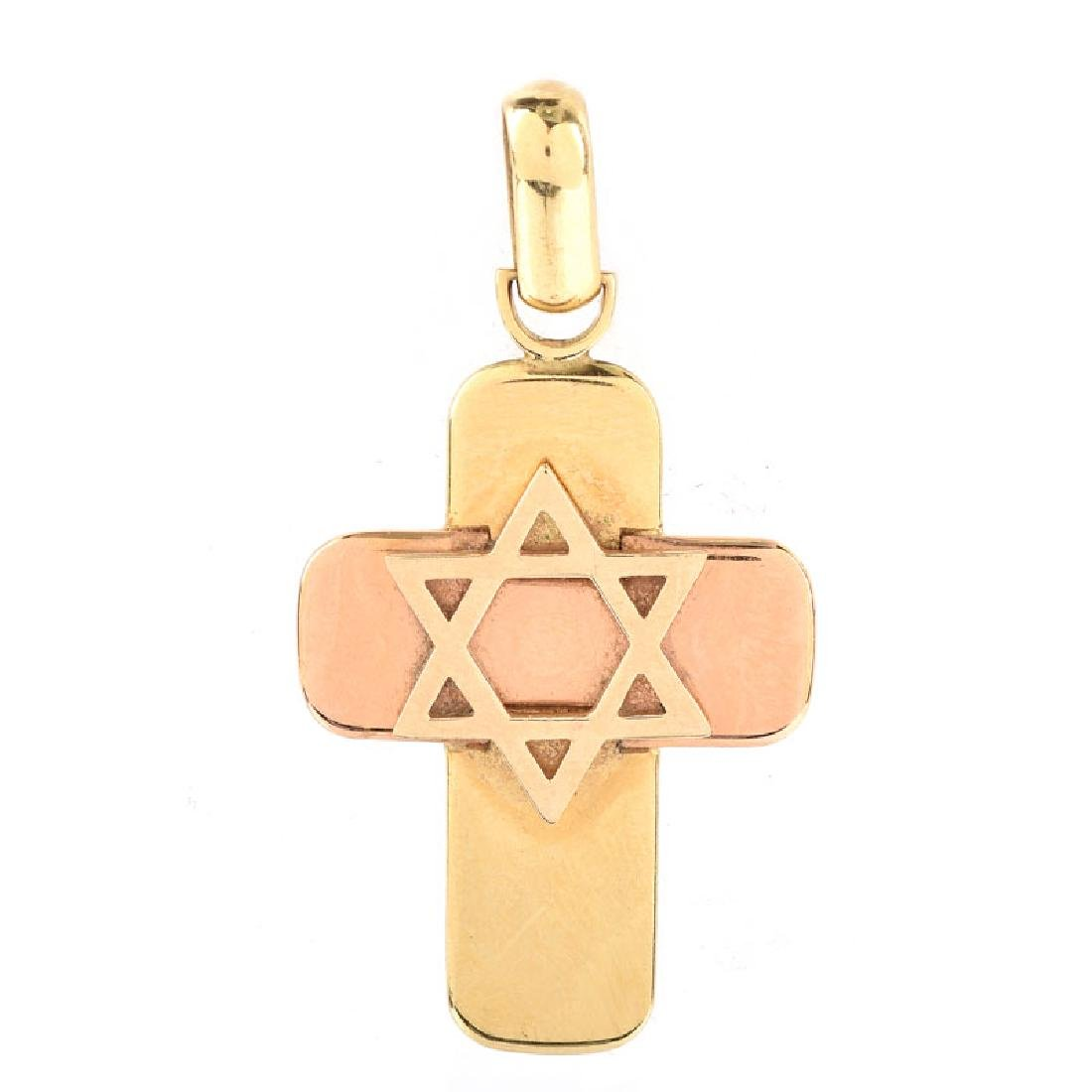 Three (3) Piece Vintage Judaica Jewelry Lot Including - 2