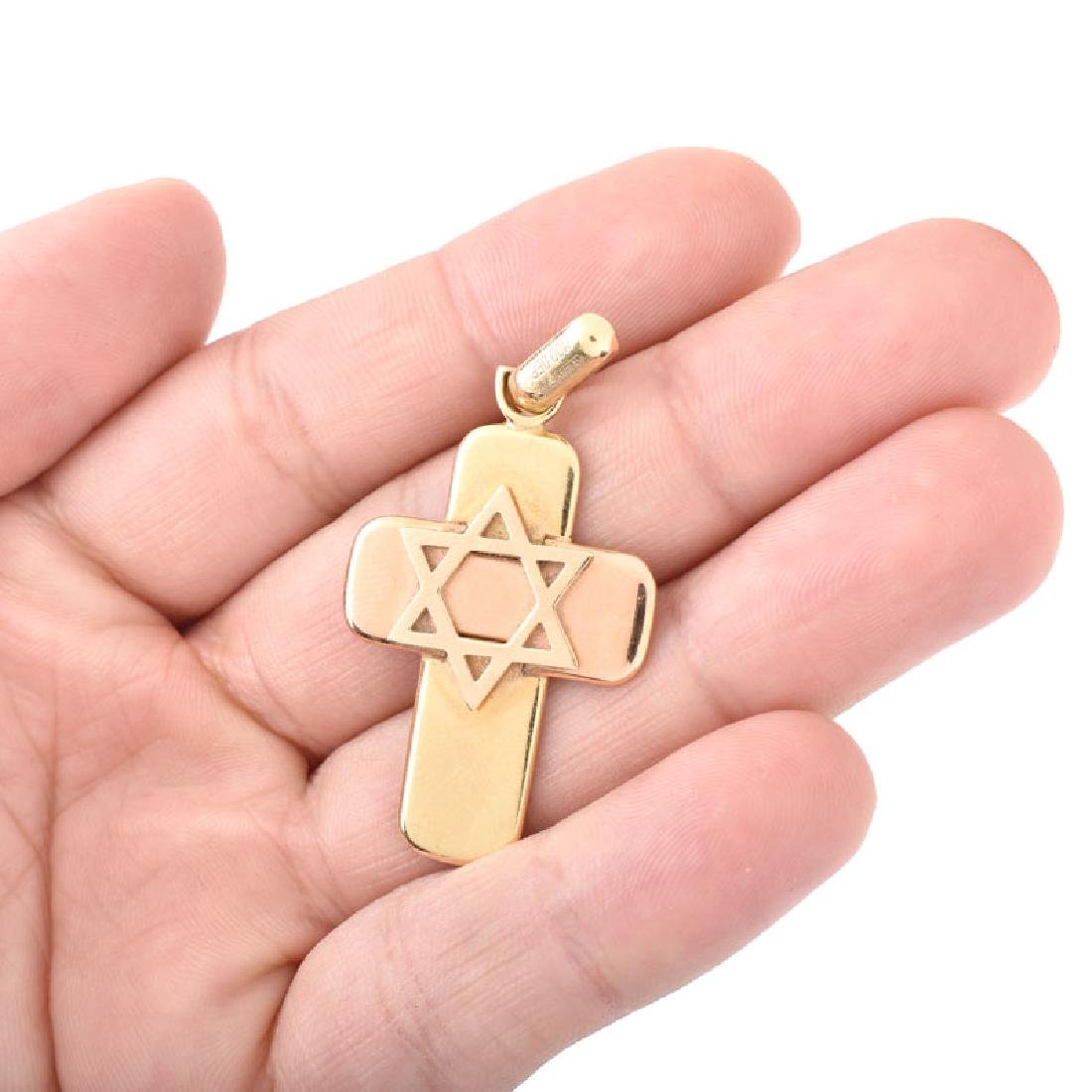 Three (3) Piece Vintage Judaica Jewelry Lot Including - 6
