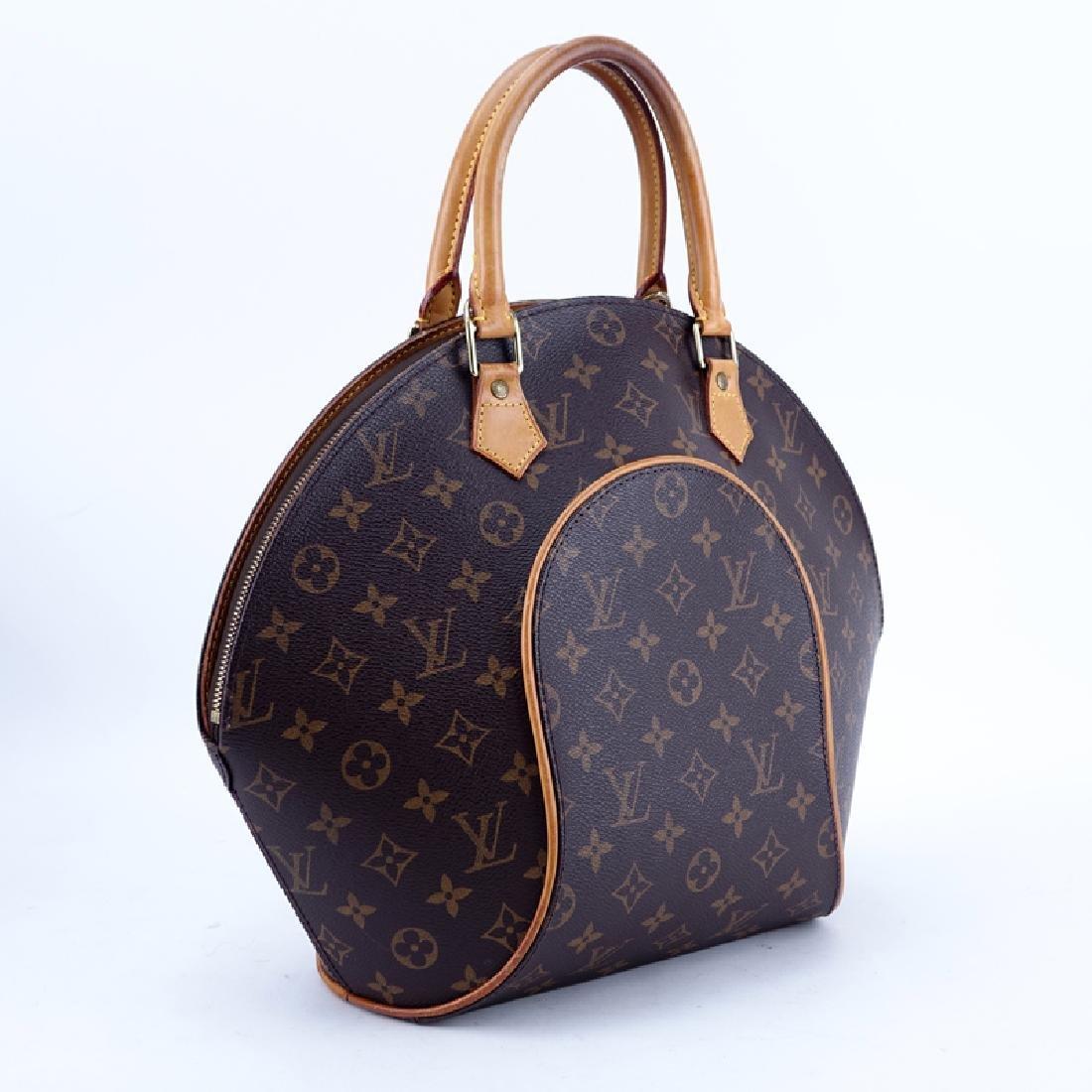 Louis Vuitton Brown Monogram Coated Canvas Ellipse GM