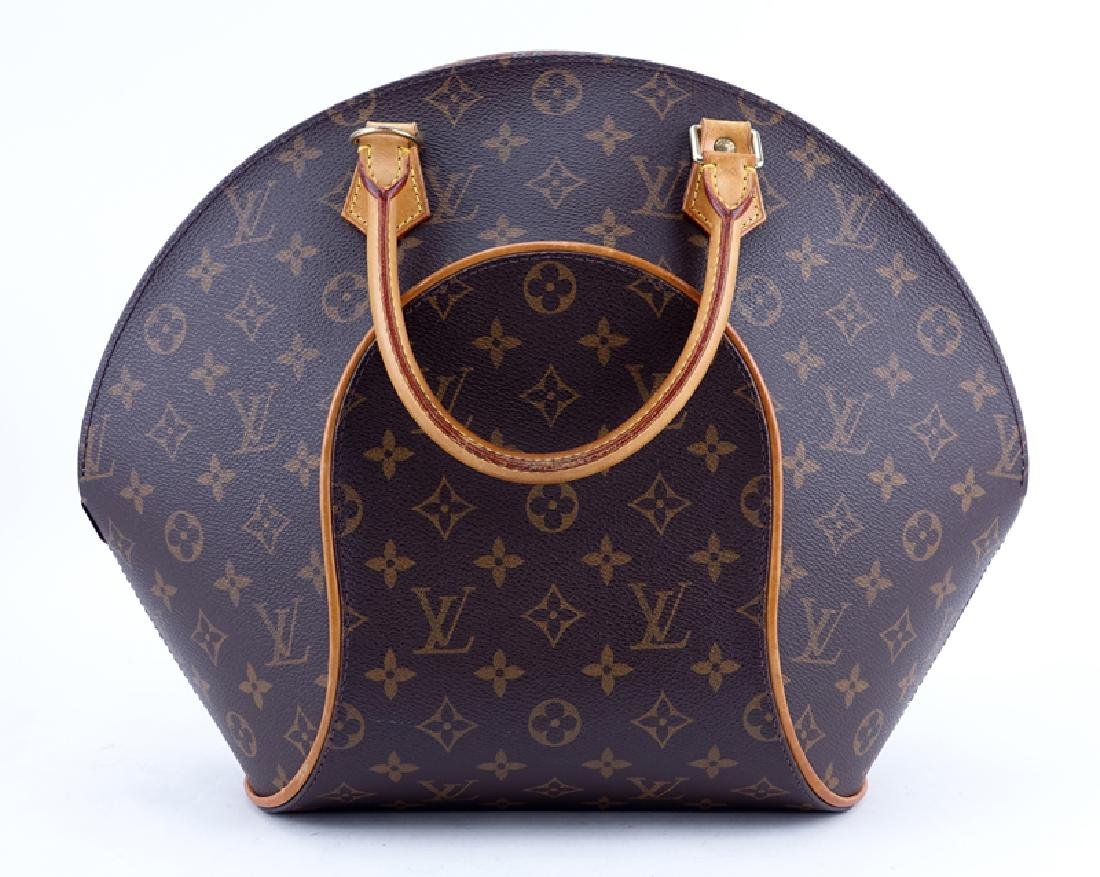 Louis Vuitton Brown Monogram Coated Canvas Ellipse GM - 2