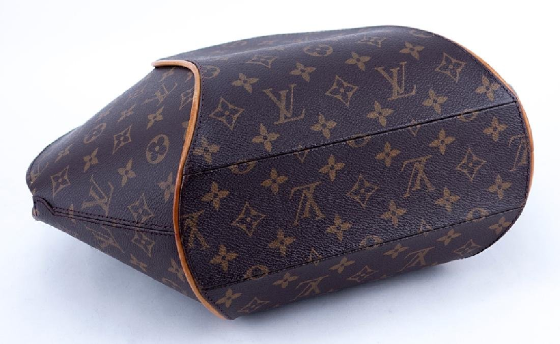 Louis Vuitton Brown Monogram Coated Canvas Ellipse GM - 3