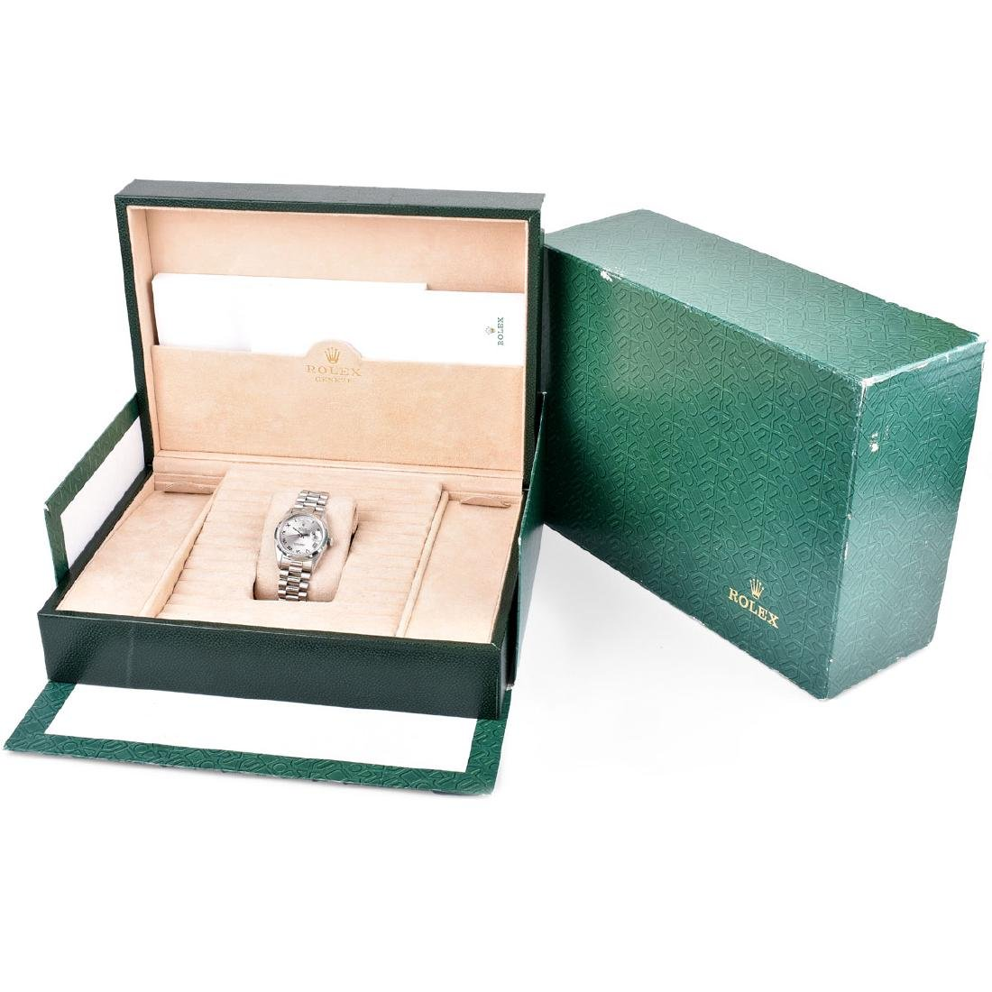 Man's Rolex Platinum President Day-Date Bracelet Watch