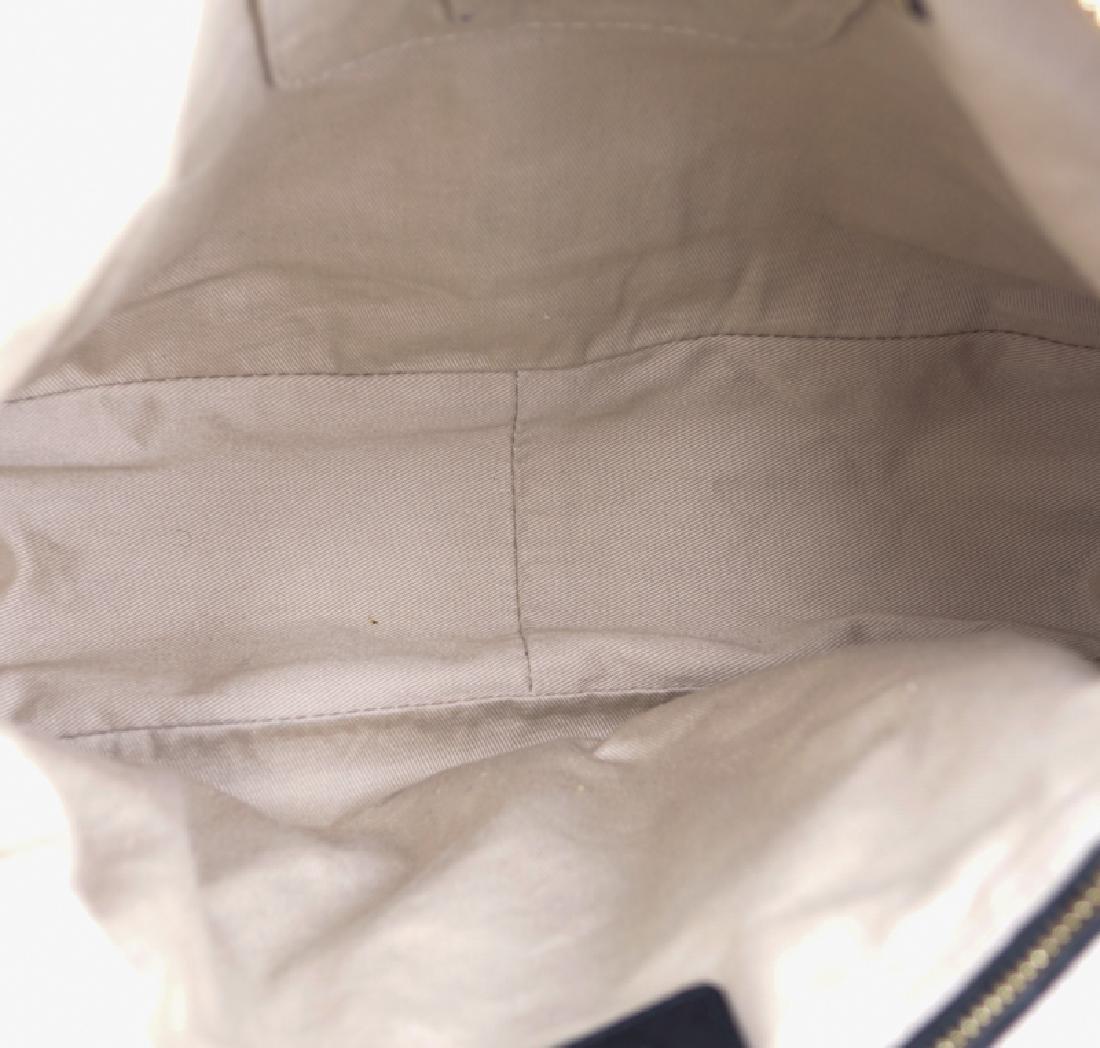 Chloe Black Smooth Studded Leather Marcie Shoulder Bag. - 3