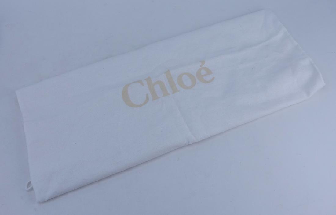 Chloe Black Smooth Studded Leather Marcie Shoulder Bag. - 5