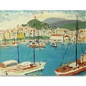 20th Century Continental School Oil On Canvas
