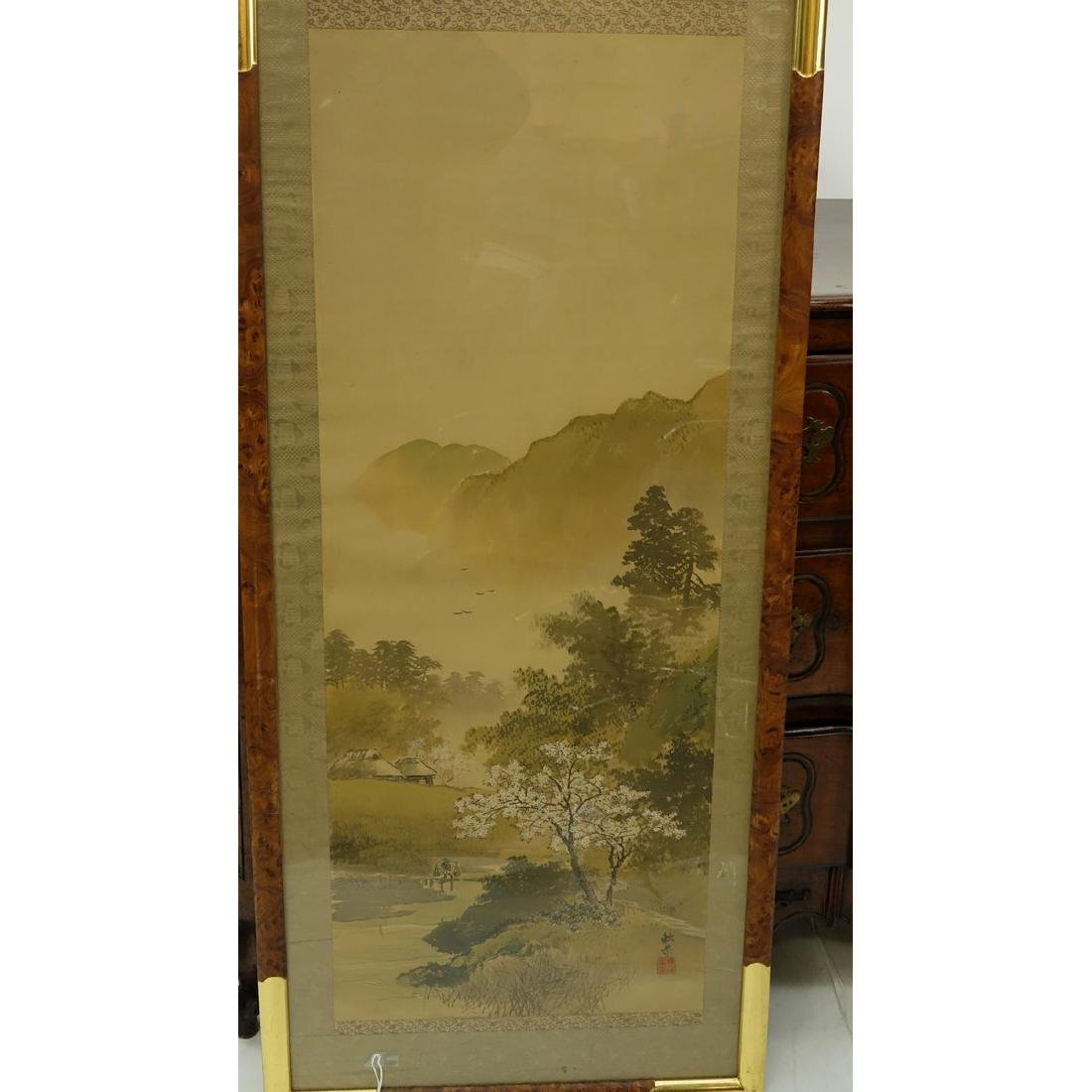 Early to mid 20th Century Japanese Watercolor on Paper - 3