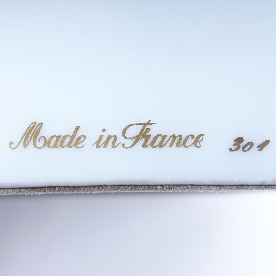 Hermes Porcelain Sporting Motif Ashtray. Signed Made In - 4