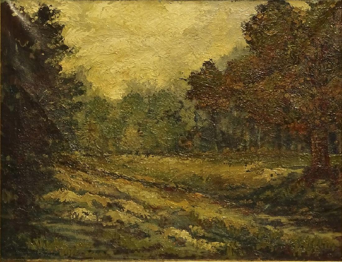 Robert Rafailovich Falk, Russian (1886-1958) oil on