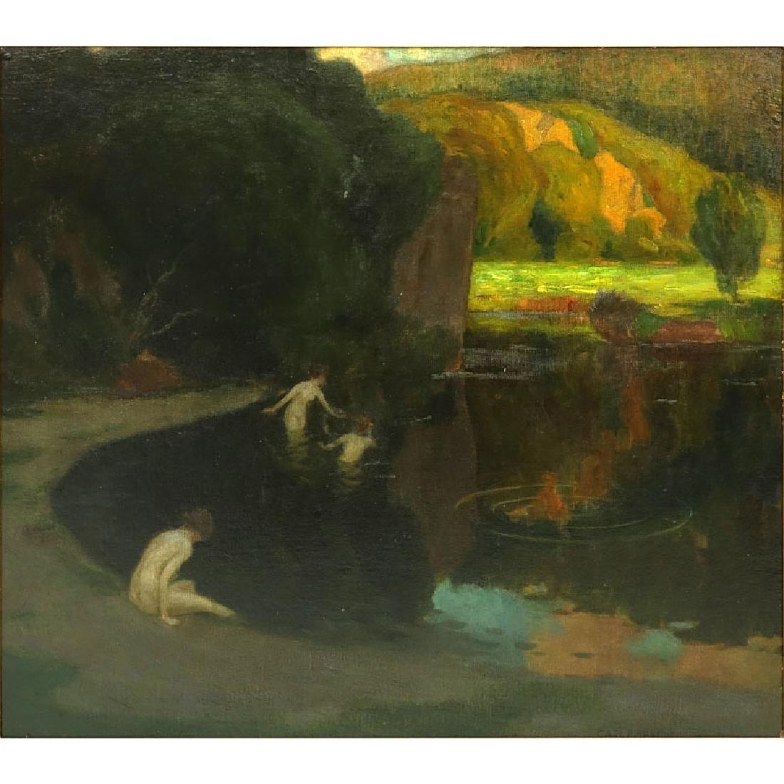 Karl Johann Nikolaus Piepho, Germany (1869 - 1920) Oil