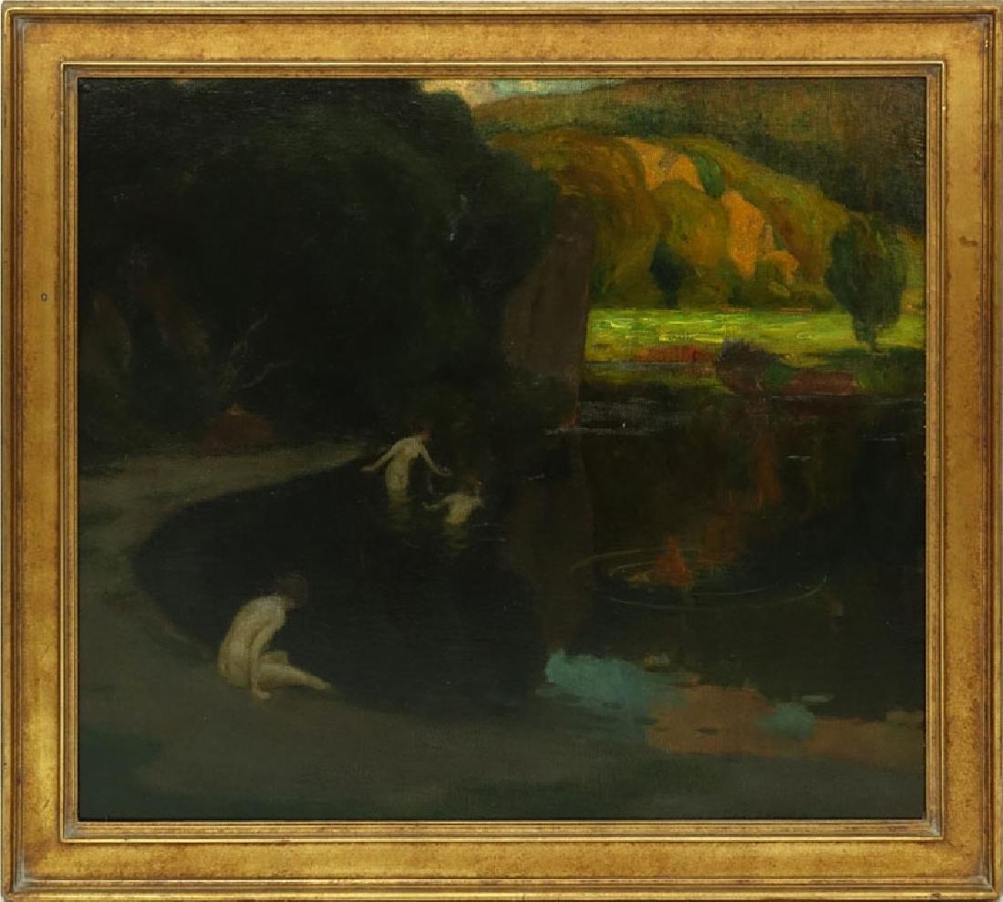 Karl Johann Nikolaus Piepho, Germany (1869 - 1920) Oil - 2