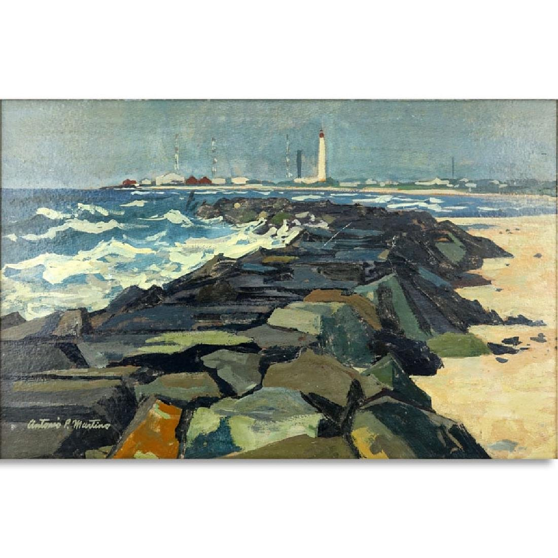 Antonio Pietro Martino, American (1902-1988) Oil on