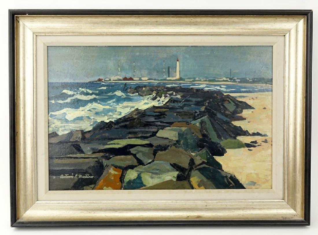 Antonio Pietro Martino, American (1902-1988) Oil on - 2