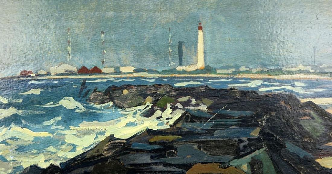 Antonio Pietro Martino, American (1902-1988) Oil on - 4