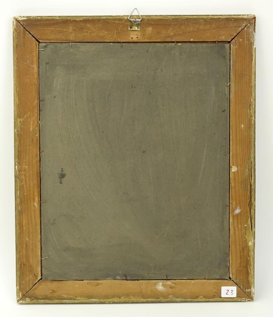 "1930's Russian School Gouache On Paper ""Cubist - 4"