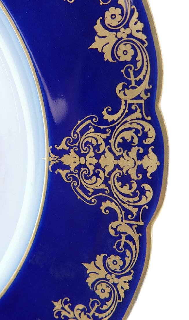 19/20th Century Sevres Portrait Plate. Painted with a - 4