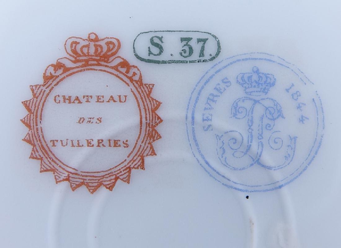 Pair of 19th Century Sevres Porcelain Chateau de - 6