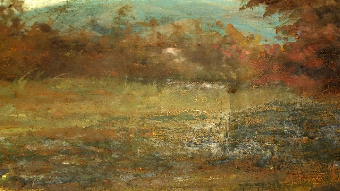 "Abdon Pinto, Venezuelan (20th C) Paint on canvas ""Site - 4"