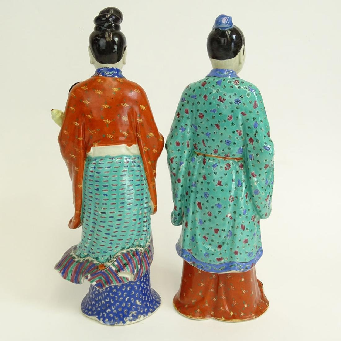 Two (2) Mid 20th Century Chinese Porcelain Figures - 3