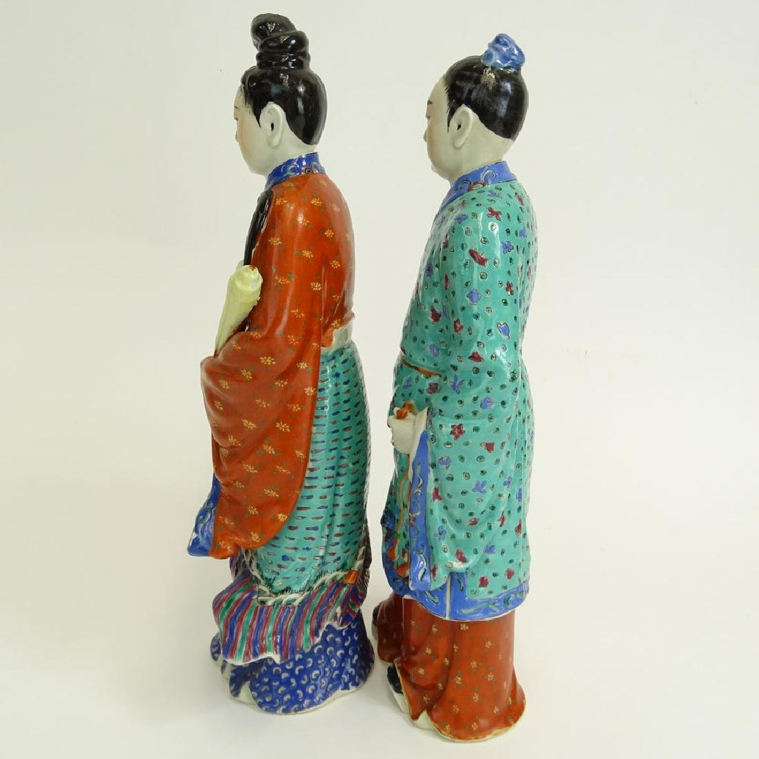 Two (2) Mid 20th Century Chinese Porcelain Figures - 4