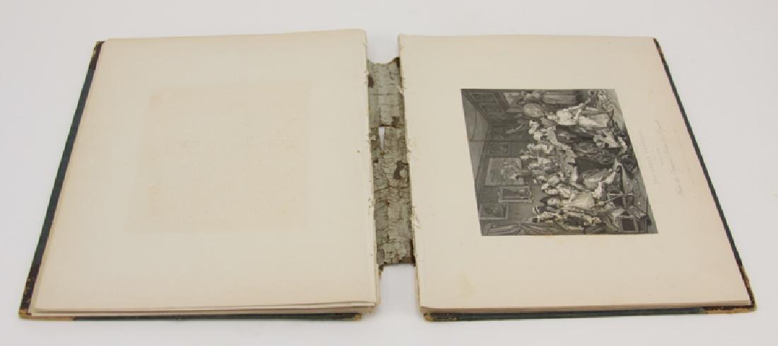 Book of Twenty-One Prints By William Hogarth. Includes, - 2