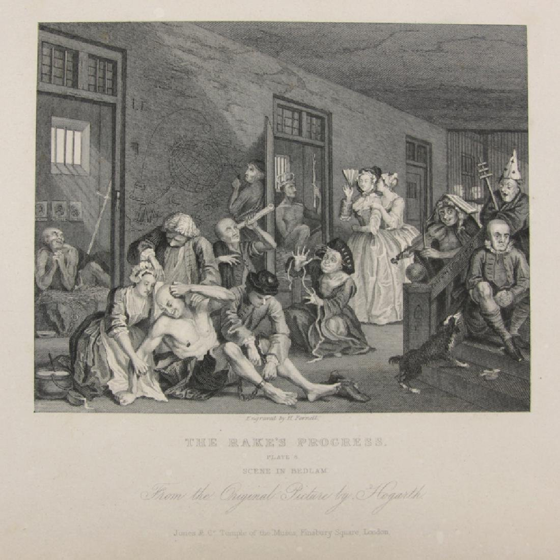 Book of Twenty-One Prints By William Hogarth. Includes, - 3