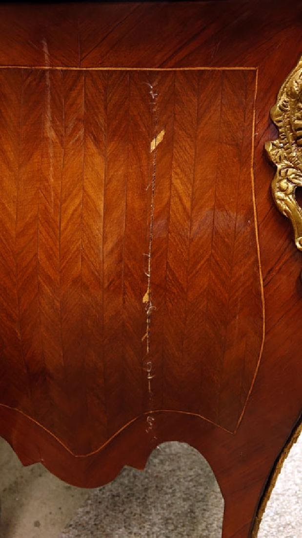 Pair of 20th Century Louis XVI Style Marquetry Inlaid - 6