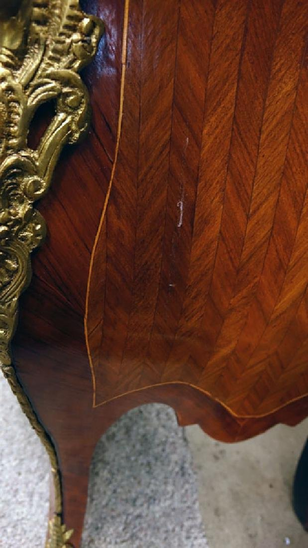 Pair of 20th Century Louis XVI Style Marquetry Inlaid - 7