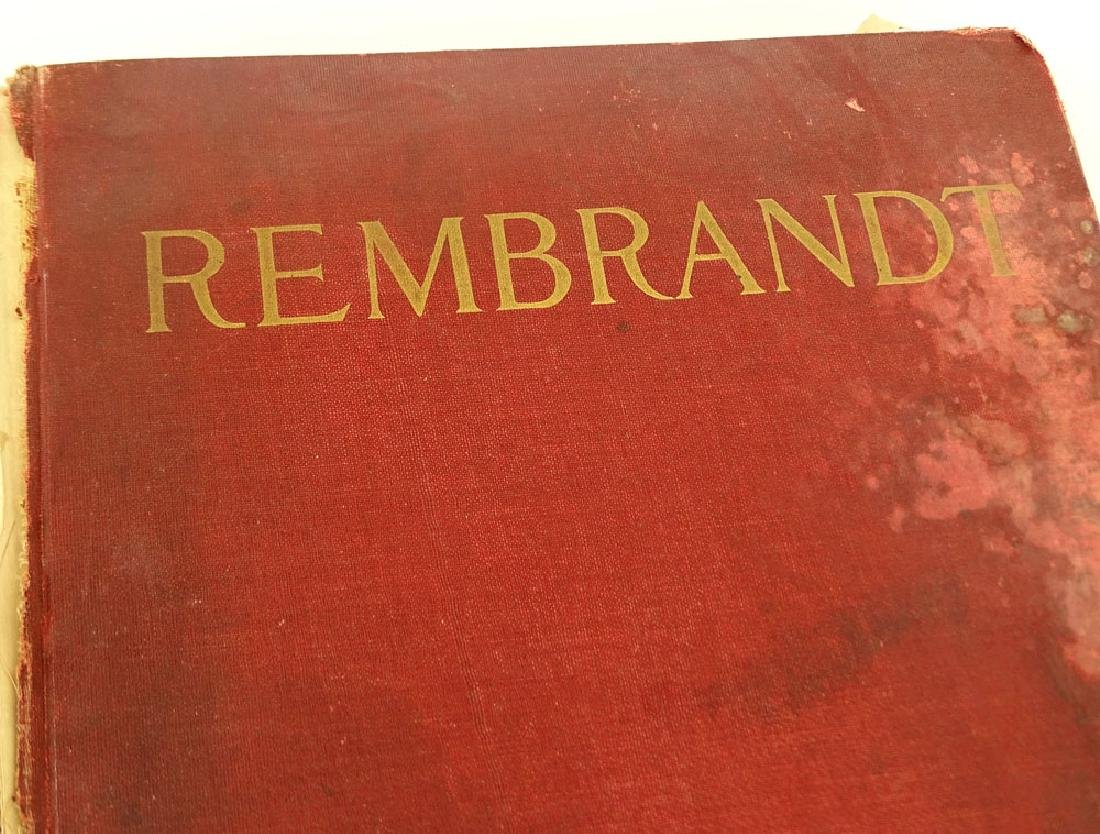 "Early 20th Century Hardcover book ""Rembrandt Harmensz - 2"