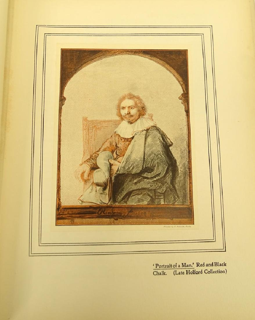"Early 20th Century Hardcover book ""Rembrandt Harmensz - 5"