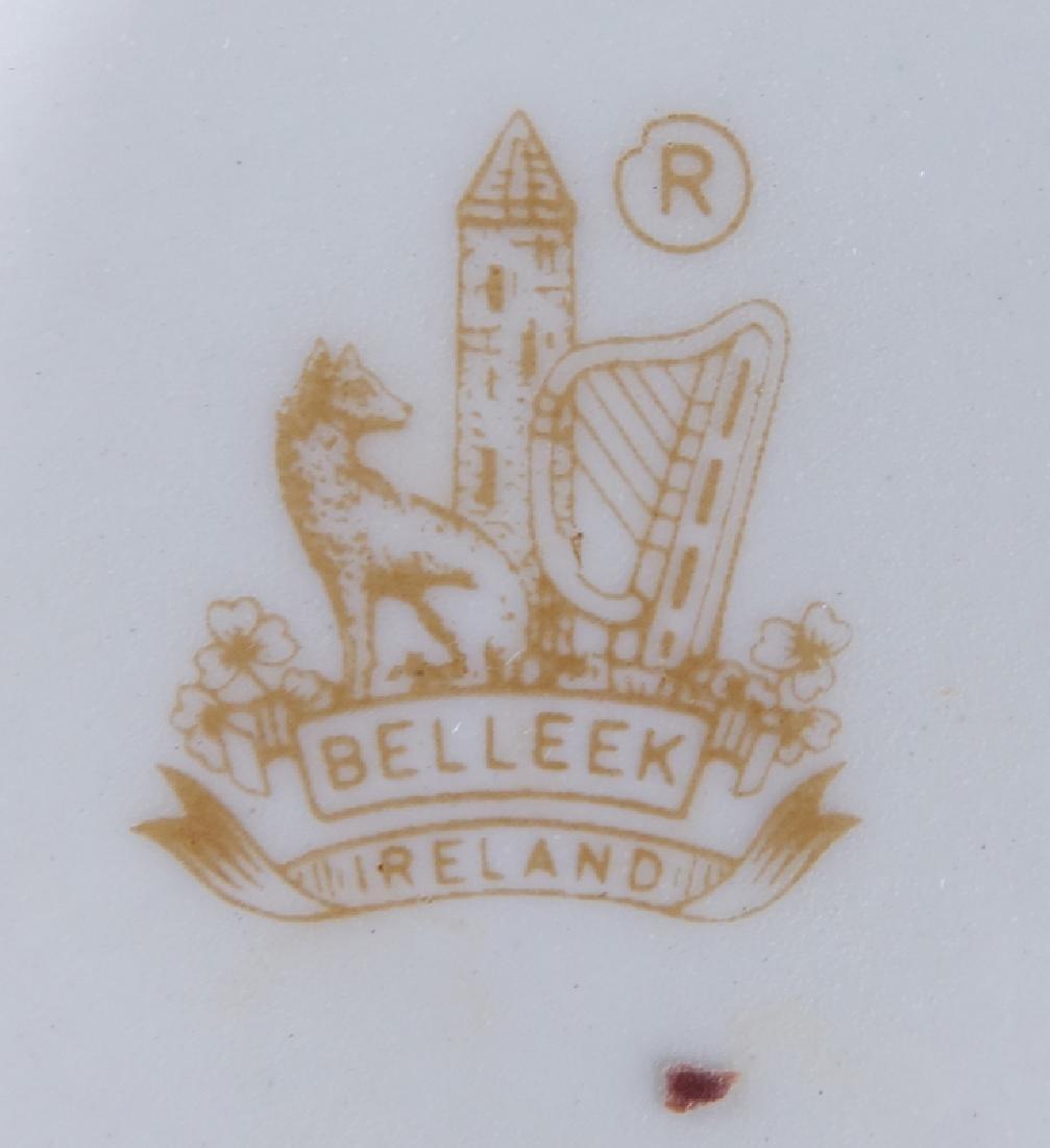 Collection of Eleven (11) Belleek Porcelain Tableware. - 5