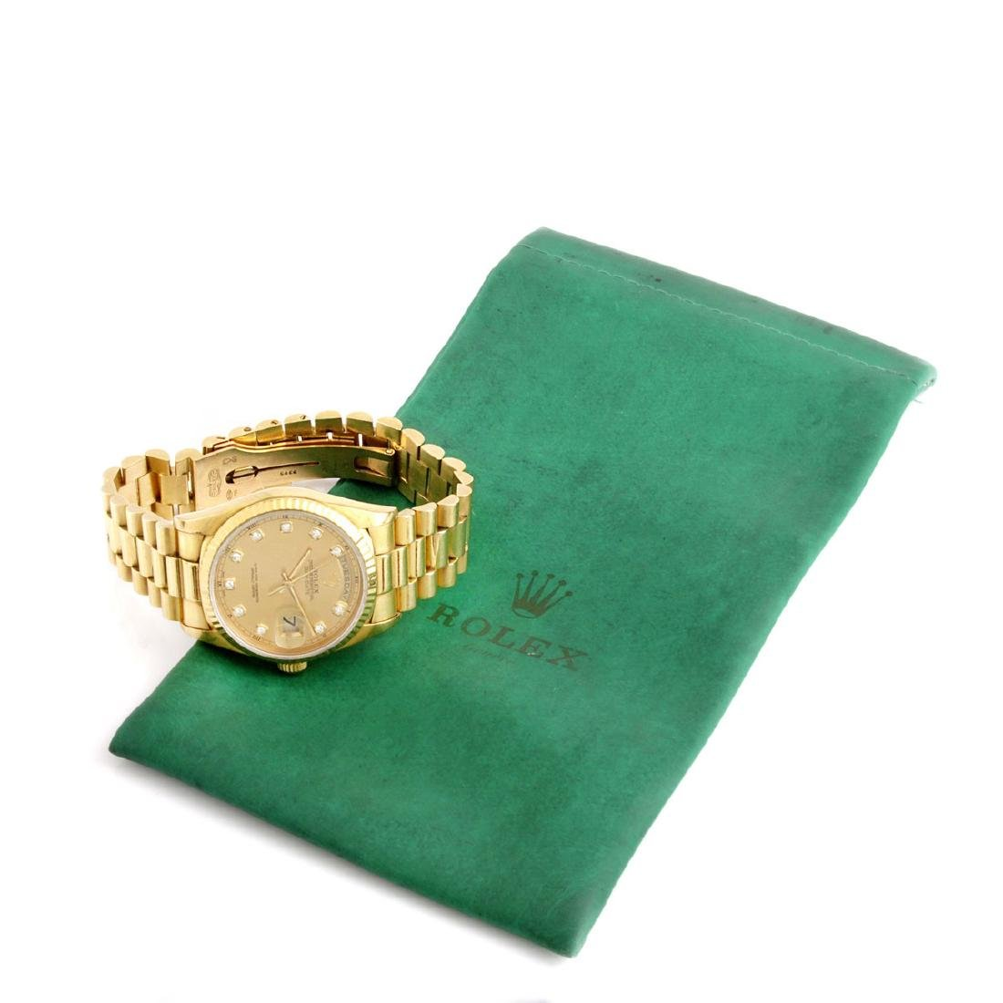 Man's Rolex 18K President Day-Date - 5