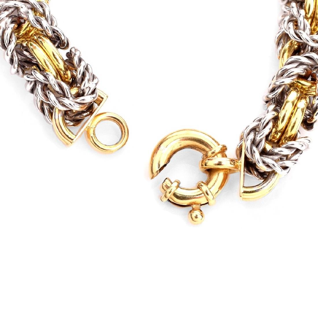 Italian 18K Gold Link Bracelet - 4