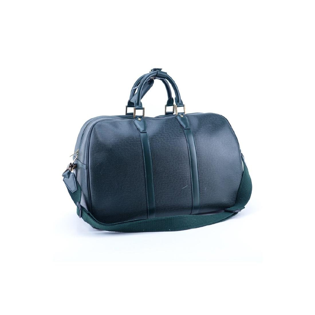 Louis Vuitton Dark Green Tiaga Leather Kendall PM
