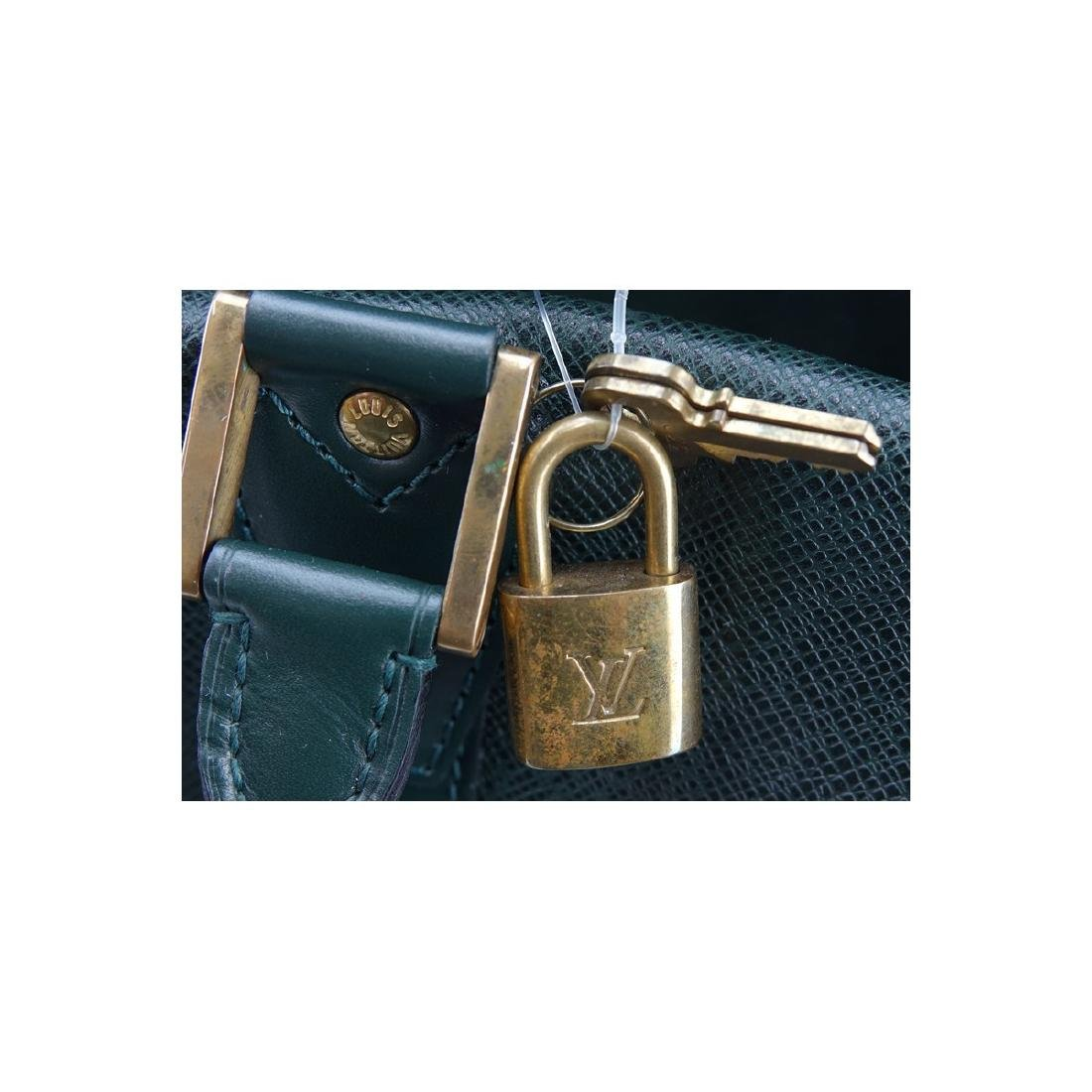 Louis Vuitton Dark Green Tiaga Leather Kendall PM - 8