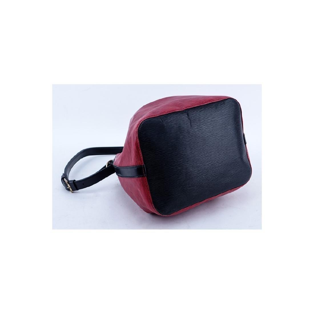 Louis Vuitton Red/Black Epi Leather Noe Bicolor - 3