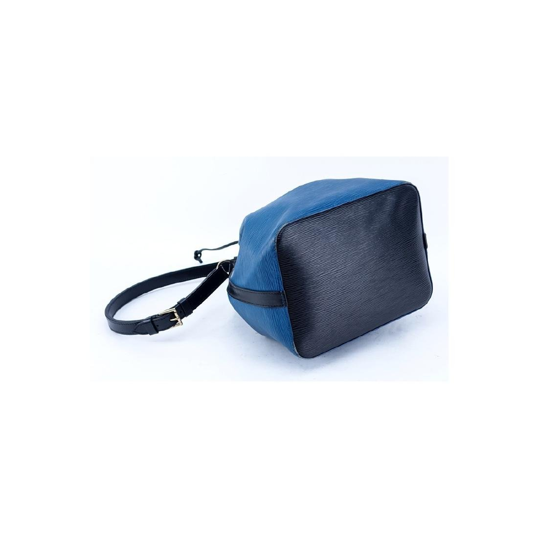 Louis Vuitton Blue/Black Epi Leather Noe Bicolor - 2