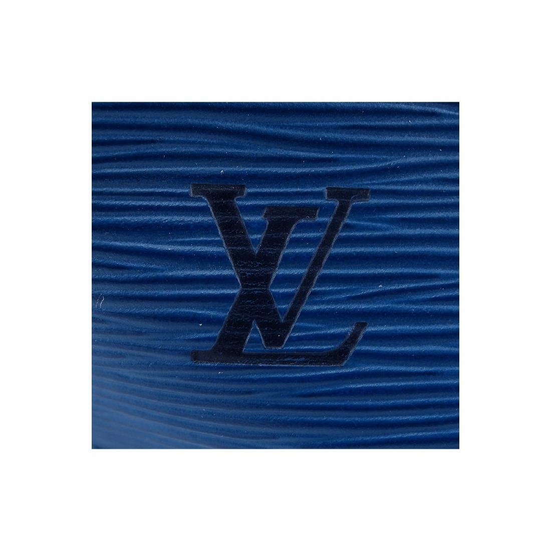 Louis Vuitton Blue/Black Epi Leather Noe Bicolor - 5