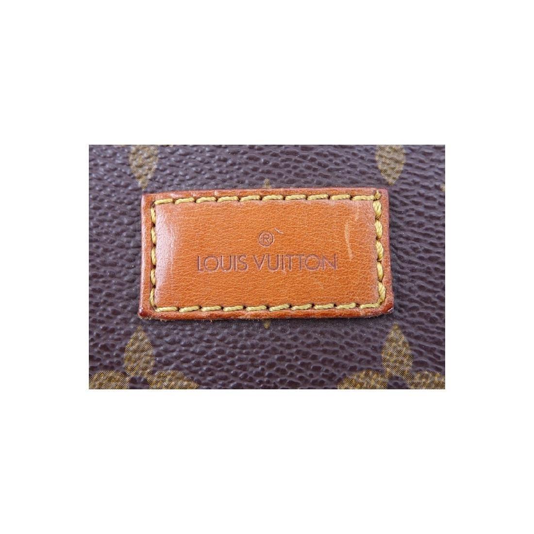 Louis Vuitton Brown Monogram Coated Canvas Saumur - 7