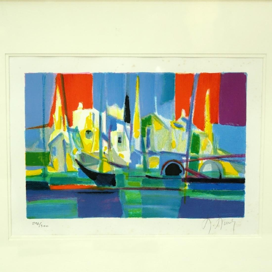 Marcel Mouly, French (1918 - 2008) Lithograph