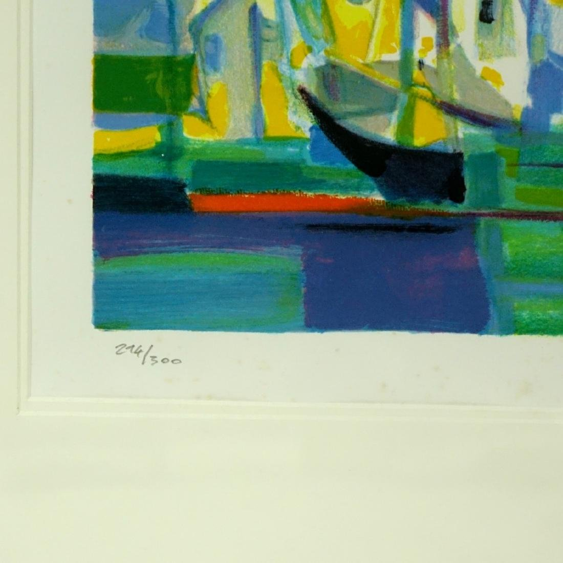 Marcel Mouly, French (1918 - 2008) Lithograph - 4
