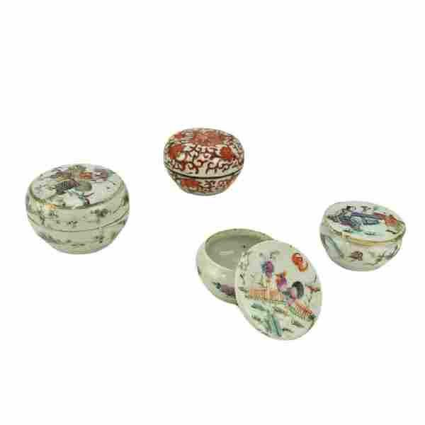 Grouping of Four (4) Antique Chinese Porcelain