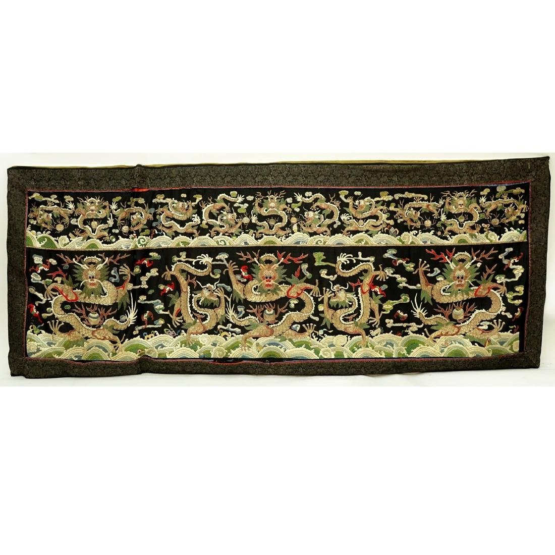 Fine Quality Antique Chinese Silk Embroidery