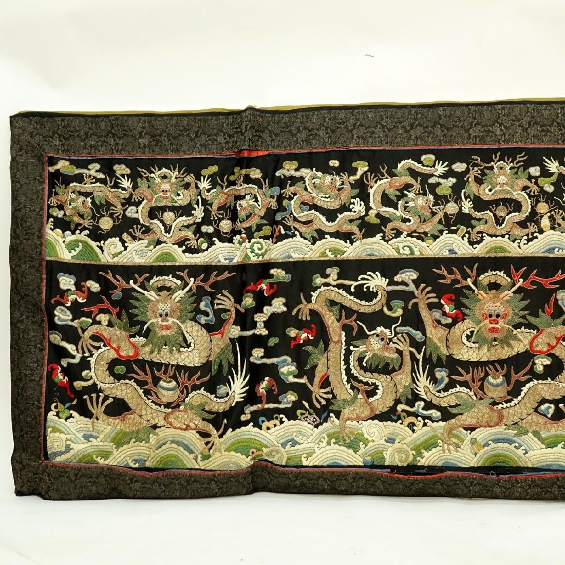 Fine Quality Antique Chinese Silk Embroidery - 2