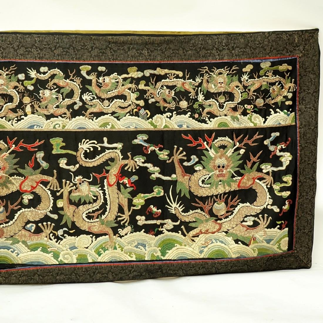Fine Quality Antique Chinese Silk Embroidery - 4