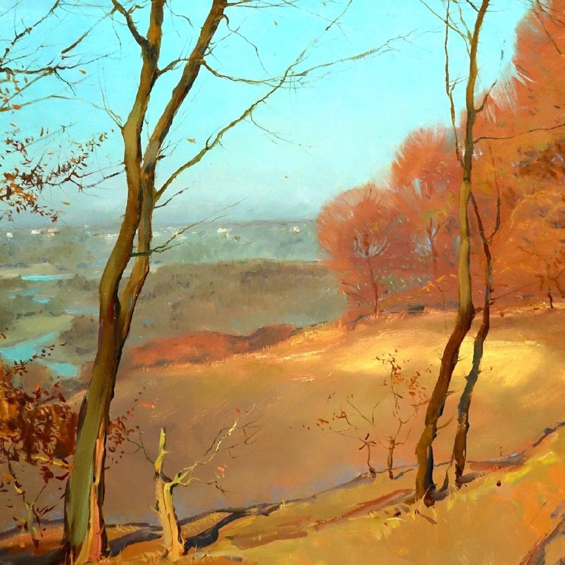 20th Century Oil On Board, Landscape Scene - 3