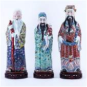 Three 20th C Chinese Porcelain Figures