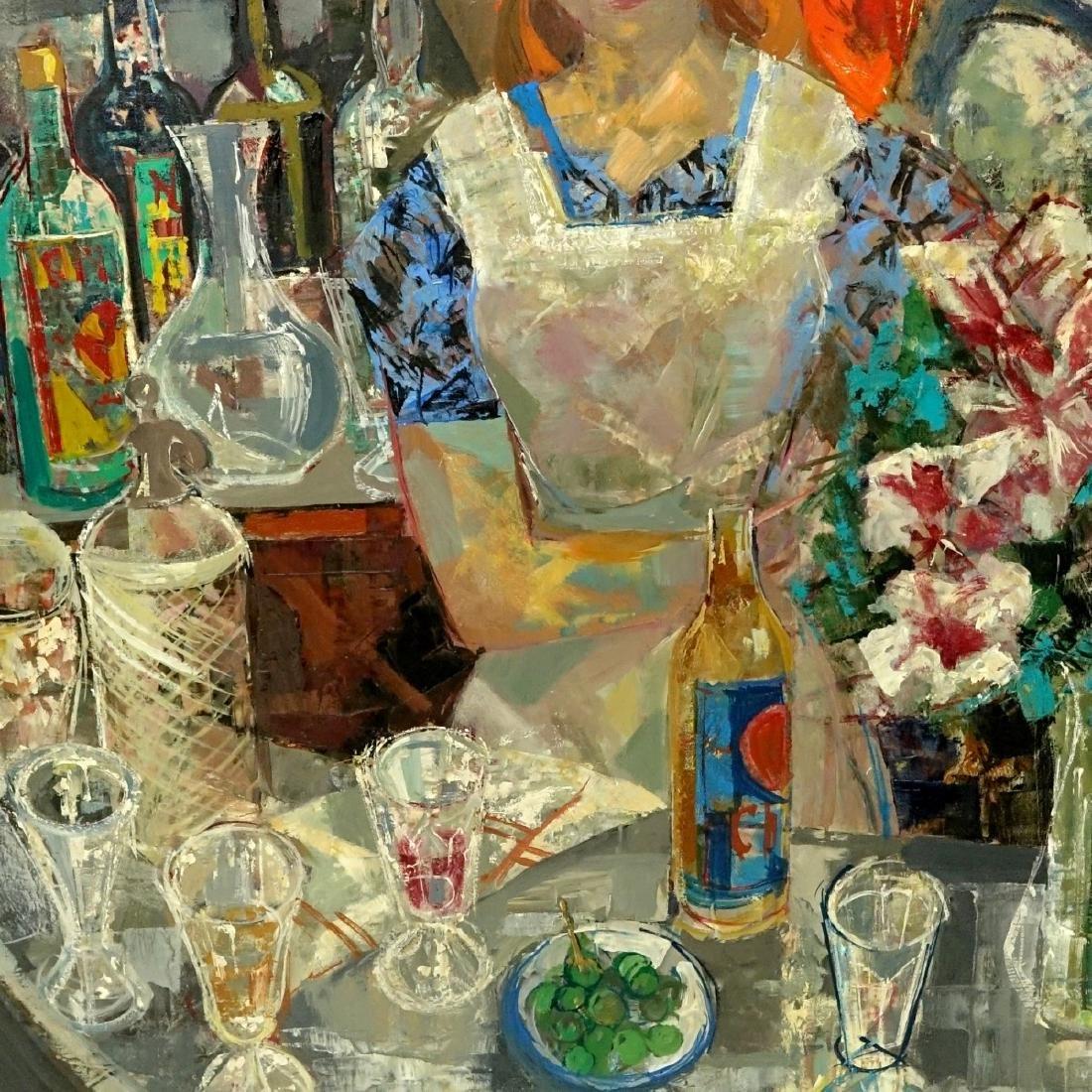 Emilio Grau-Sala, Spanish  (1911 - 1975) Oil - 2