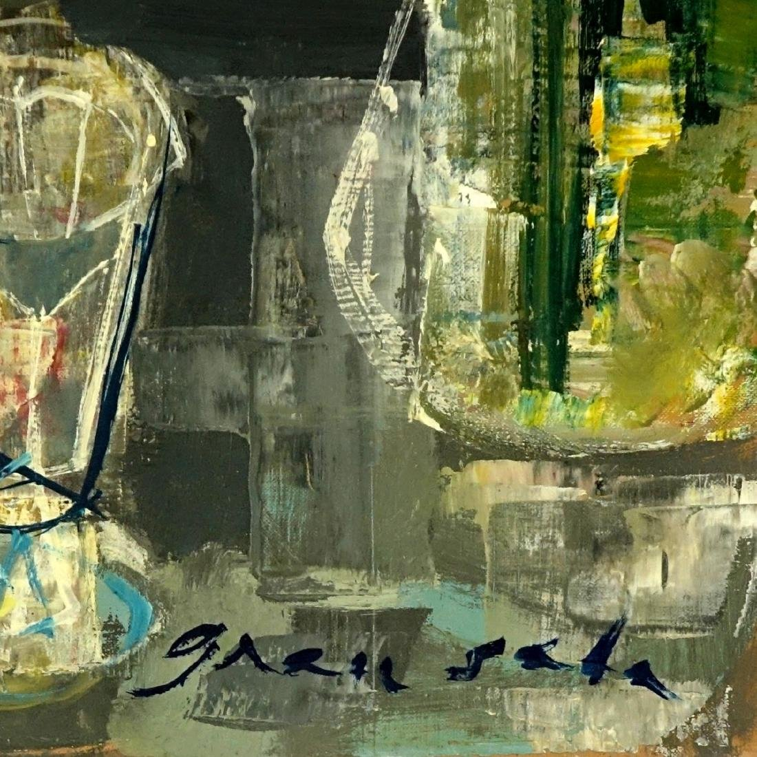 Emilio Grau-Sala, Spanish  (1911 - 1975) Oil - 3